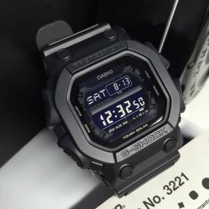 (OFFICIAL MALAYSIA WARRANTY) Casio G-SHOCK KING GX-56BB-1 Tough Solar Black Men's Resin Standard Digital Watch