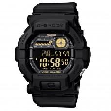 (OFFICIAL MALAYSIA WARRANTY) Casio G-SHOCK GD-350-1B Vibration Alarm Black Men's Resin Standard Digital Watch