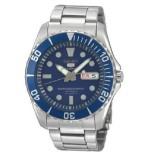 Seiko 5 Sports SNZF13K1 Gents Automatic 100m Watch (Blue & Silver)