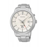 Seiko Kinetic GMT World Time Gents Watch SUN029P1