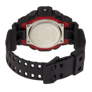 (OFFICIAL MALAYSIA WARRANTY) Casio G-SHOCK GA-700-1A Standard Analog & Digital Men's Resin Watch (Black & Red)