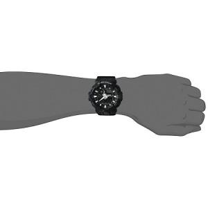 (OFFICIAL MALAYSIA WARRANTY) Casio G-SHOCK GA-700-1B Standard Analog & Digital Men's Resin Watch (Black)