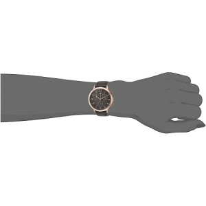 Fossil Women CH3099 Abilene Chronograph Gunmetal Dial Gray Leather Watch (Grey)