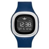 ADIDAS ADH3139 Denver LCD Dial Night Marine Silicone Unisex Digital Quartz Watch (Night Marine & Silver)