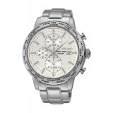 Seiko Gents Chronograph Stainless Steel World Time Watch SPL047P1