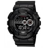 (OFFICIAL MALAYSIA WARRANTY) Casio G-SHOCK GD-100-1B Standard Digital Men's Resin Watch (Black )