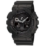 (OFFICIAL MALAYSIA WARRANTY) Casio G-SHOCK GA-100-1A1 Analog-Digital Men's Resin Watch (Black)