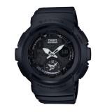 (OFFICIAL MALAYSIA WARRANTY)  Casio Baby-G BGA-190BC-1B Standard Analog-Digital Resin Women's Watch (Black)