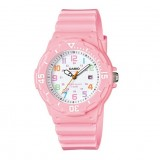 Casio Women's LRW-200H-4B2 100m Analog Resin Pink 100% Original Watch (Free Shipping)