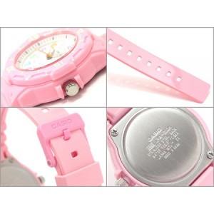 Casio Women's LRW-200H-4B2 100m Analog Resin Pink 100% Original Watch (Free Shipping)