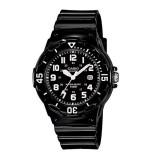 Casio Women's LRW-200H-1B 100m Analog Resin Black & White 100% Original Watch (Free Shipping)