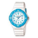 Casio Women's LRW-200H-2B 100m Analog Resin White & Blue 100% Original Watch (Free Shipping)
