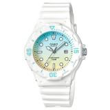 Casio Women's LRW-200H-2E2 100m Analog Resin White 100% Original Watch (Free Shipping)