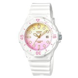Casio Women's LRW-200H-4E2 100m Analog Resin White 100% Original Watch (Free Shipping)