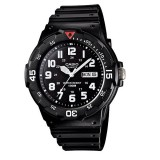Casio Men's MRW-200H-1B 100m Analog Resin Black & White 100% Original Watch (Free Shipping)