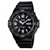 Casio Men's MRW-200H-1B2 100m Analog Resin Black & White 100% Original Watch (Free Shipping)