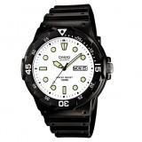 Casio Men's MRW-200H-7E 100m Analog Resin Black & White 100% Original Watch (Free Shipping)
