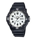 Casio Men's MRW-200H-7B 100m Analog Resin Black & White 100% Original Watch (Free Shipping)