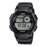 Casio Men's AE-1000W-1A 10-Year Battery Life Multi-Function Digital Black Watch (Free Shipping)