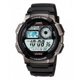 Casio Men's AE-1000W-1B 10-Year Battery Life Multi-Function Digital Black & Grey Watch (Free Shipping)