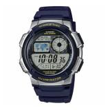 Casio Men's AE-1000W-2A 10-Year Battery Life Multi-Function Digital Dark Blue & Grey Watch (Free Shipping)