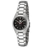 Seiko 5 SYMC27K1 Automatic 21 Jewels Ladies Stainless Steel Watch (Silver & Black)