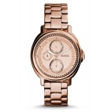 Fossil ES3720 Chelsey Multifunction Stainless Steel Watch (Rose)
