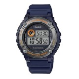 Casio Men's W-216H-2B Standard Digital Dark Blue & Silver Watch (Free Shipping)