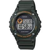 Casio Men's W-216H-3B Standard Digital Army Green Watch (Free Shipping)