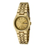 Seiko 5 SYMA04K1 Automatic 21 Jewels Ladies Gold Tone Stainless Steel Watch (Gold)