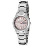 Seiko 5 SYMD91K1 Automatic 21 Jewels Ladies Stainless Steel Watch (Silver & Pink)