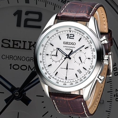 cfe8ec2031d Dial Color   White Bezel Material   Stainless-steel. Glass Type   Scratch  Resistant Hardlex Movment Type   Japan Made Quartz Movement Calendar Type    Date