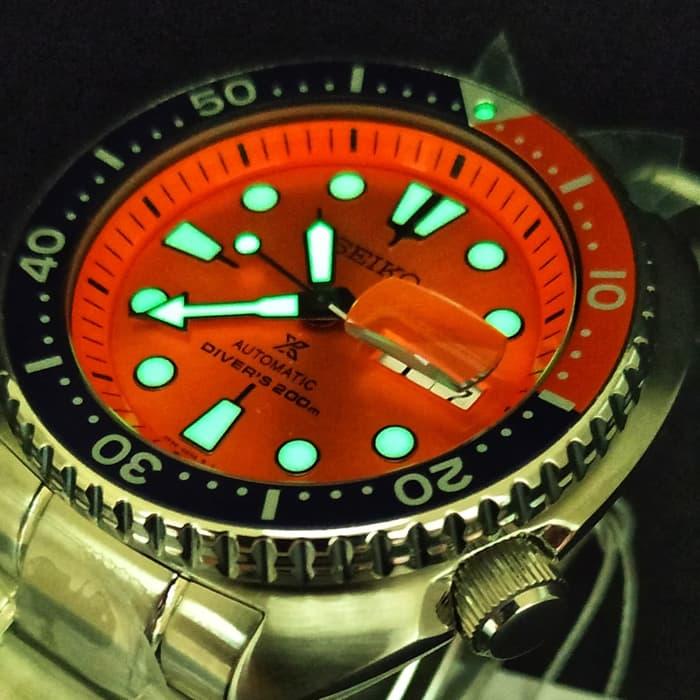 low priced b080b 534a2 Seiko Prospex Turtle LIMITED EDITION Nemo SRPC95K1 Orange ...